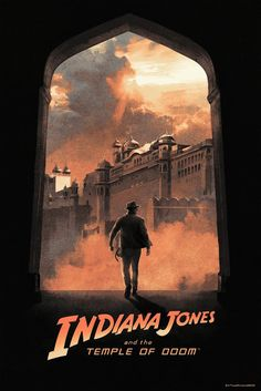 Indiana Jones and the Temple of Doom Poster - Hans Woody New Indiana Jones, Harrison Ford Indiana Jones, Indiana Jones Films, Indiana Map, Best Movie Posters, Movie Poster Art, Poster Series, Cinema Posters, Disney Pixar