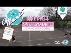 The One Two Drill is our most difficult yet but once it's broken down I think any players who can pass and catch could give it a go! It's a great team buildi. Netball Coach, First Second, Rugby League, Great Team, Rowing, Physical Education, Drills, Coaching, How To Plan