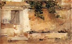 Farmhouse in Valencia - Joaquín Sorolla