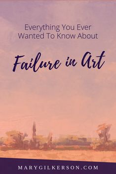 Failure is a part of the creative process and being an artist. Even the most skilled painters still create art that doesn't work. Get out of the mindset that failure of an artwork is failing as an artist! Save this pin and click through to read more. Art Room Posters, Art Basics, Painting & Drawing, Watercolour Painting, Pastel Paper, Drawing Lessons, Art Tips, Art Techniques, Art Tutorials
