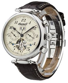 Ingersoll Men's IN1312CR Walldorf Analog-Display Automatic Self-Wind Brown Watch