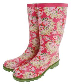 Wellies...I Want A Pair!