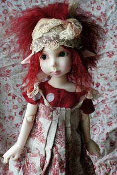 Red- Headed elf - How cute