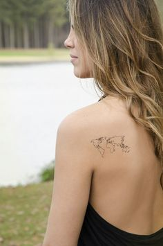 maps tattoo
