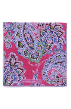 Peter Millar Paisley Pocket Square