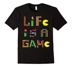 Mens Life Is A Game Video Gamer Classic T-Shirt 2XL Black... https://www.amazon.com/dp/B075V9LD3M/ref=cm_sw_r_pi_dp_x_xmPYzbFH1YJRQ