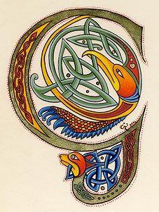 """""""G""""     lettrines celtes"""