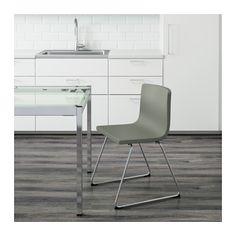 BERNHARD Chair, chrome plated, Mjuk green