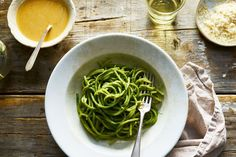 Is it just spinach pesto? Not quite...