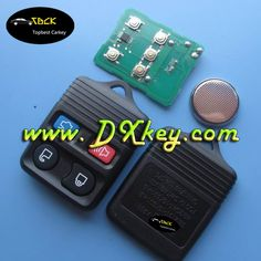 Discount price 4 buttons for ford remote control key with 315/433Mhz FCC ID: CWTWB1U331