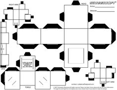 Cubee BLANK Template--Regular by njr75003 on DeviantArt