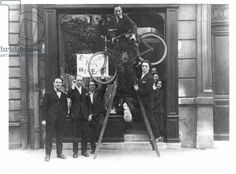 Opening of the Exhibition 'Dada Max Ernst', 2nd May 1921 (b/w photo)