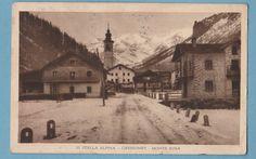Cartolina  viaggiata II STELLA ALPINA GRESSONEY MONTE ROSA 1934-C76
