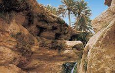 Tamerza (south of Tunisia)