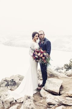 Cody and Nicole | Sapphire Point, Winter Breckenridge Colorado Wedding | Bride & Groom