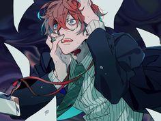 All Stars ヒプノシスマイク(Matenrou Hypnosis Mic) HypMic (ヒプマイ) Doppo Kannonzaka Character Art, Character Design, Poses References, Rap Battle, Manga Boy, Boy Art, Anime Style, Division, Anime Guys