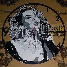 Amazon.com Seller Profile: VINYL PLANET wall clock Kylie Minogue