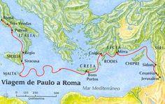 """A Bíblia pela Bíblia: Atos dos Apóstolos - Parte 12 - """" A Prisão e Viage..."""