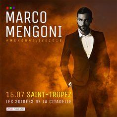 MARCO MENGONI: IL 15 LUGLIO UN LIVE A SAINT-TROPEZ IN FRANCIA