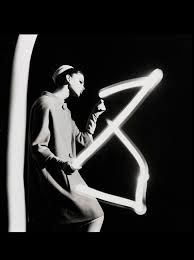 William Klein - drawing with light