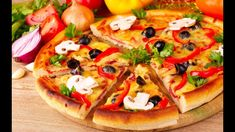 10 Homemade Pizza Video Recipe   Quick n Easy Pizza Recipe To Make At Ho...