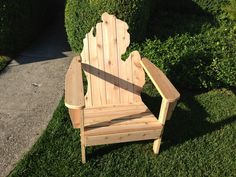 Michigan chair wood project