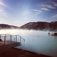 What a morning, second day of summer! Did you know that the mountain next to the Blue Lagoon is called Þorbjörn?
