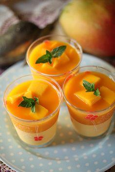 マンゴープリン: Mango pudding