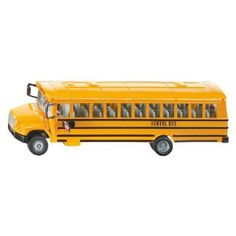 "Classic Die Cast School Bus 1:55 Scale by Siku 8"" Long (Toy) http://www.amazon.com/dp/B00029D1BO/?tag=dismp4pla-20"