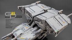 Gundam GP03 Dendrobium - Customized Build Modeled by Akirazero