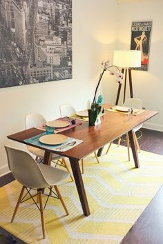Mid Century Inspired Sputnik Solid Walnut Dining by moderncre8ve, $2125.00