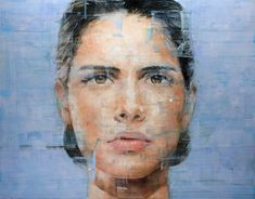 Brazilian-born artist Harding Meyer lives and works in Berlin and Karlsruhe where he paints these stunning, large-scale oil portraits. I imagine nothing short of standing in front of these giant canvases truly does them justice, but you can see them in extremely high resolution ove