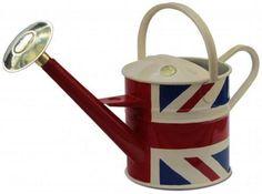 Haws 4.5 litre metal traditional Union Jack -Gardening gift