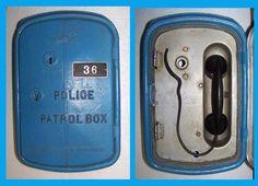 Gamewell aluminum police call box