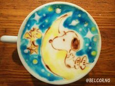 Snoopy latte art→follow← my board ♡ͦ* ¢σffєє σвѕєѕѕє∂ ♡ͦ* @ ★☆Danielle ✶ Beasy☆★
