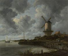 The Windmill at Wijk bij Duurstede, Jacob Isaacksz. van Ruisdael, c. 1668 - c. 1670