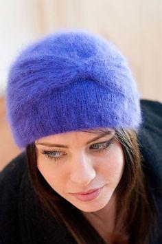 Angora Cloche Free Cloche Hat Knitting Pattern | Cloche Hat Knitting Patterns, many free knitting patterns at http://intheloopknitting.com/free-cloche-hat-knitting-patterns/
