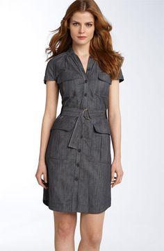 Calvin Klein 'Safari' Dress available at #Nordstrom