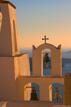 Sunset Glow - Fira, Greece