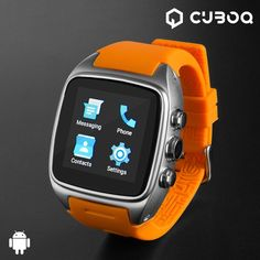 Android Smartwatch Phone Bluetooth Smart Watch Phone Function: Make phone call directly from the smart watch, including answering and dial up, SIM Card slot, support makes calls by bluetooth or smartwatch. Iphone Bluetooth, Smartphone, Elegant Watches, Beautiful Watches, Smartwatch Android, Wifi, Display Lcd, Android Watch, Wearable Technology