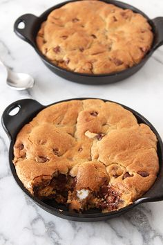 S'mores Stuffed Pizza Cookies