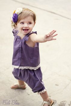 Bali bliss outfit tutorial - This is one of my favorite clothes patterns ever for little ones!