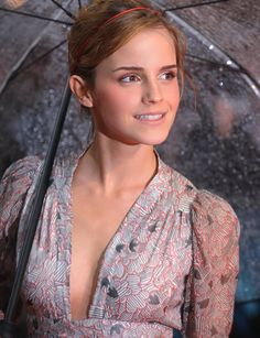 Actress Emma Watson attends the 'Harry Potter and the Half-Blood Prince' film premiere at the Odeon Leicester Square on July 7, 2009 in London, England.