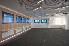 Huawei required an interactive and high-end space that emulated technological innovation and sophistication for their training room and lab. The space is intended to present the brand and its state of the art products. This required thorough research in order for inOne to accommodate all of the technological considerations, such as the expansive data center.
