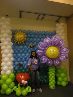 Flor sanny balloon
