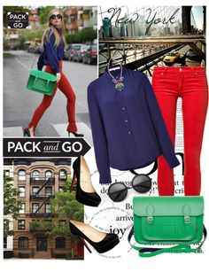 """""""Pack and Go: New York City"""" by renatademarchi on Polyvore"""