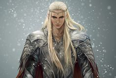 Thranduil by moliko. This is so beautiful!