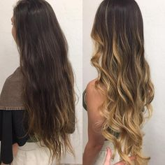 Ombre Hair, Hair Inspiration, Long Hair Styles, Beauty, Blond Brown Hair, Tips, Cosmetology, Long Hairstyles, Long Haircuts
