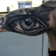 Image for Realistic Eye Tattoo | 3d0317
