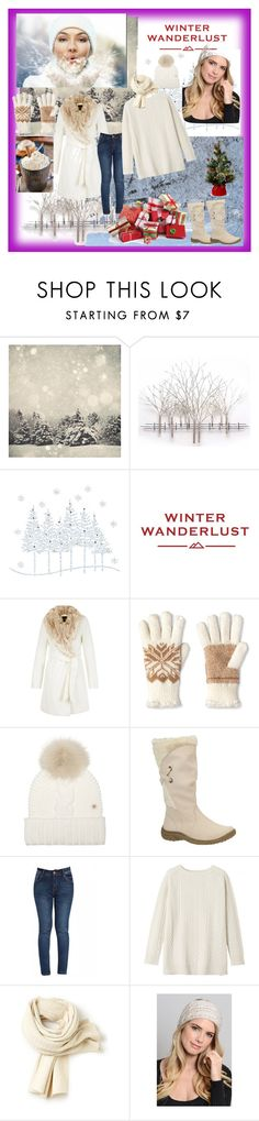 """""""WINTER"""" by adorotic-1 ❤ liked on Polyvore featuring Home Decorators Collection, American Eagle Outfitters, Isotoner, Woolrich, Toast, Lacoste, Leto, women's clothing, women and female"""